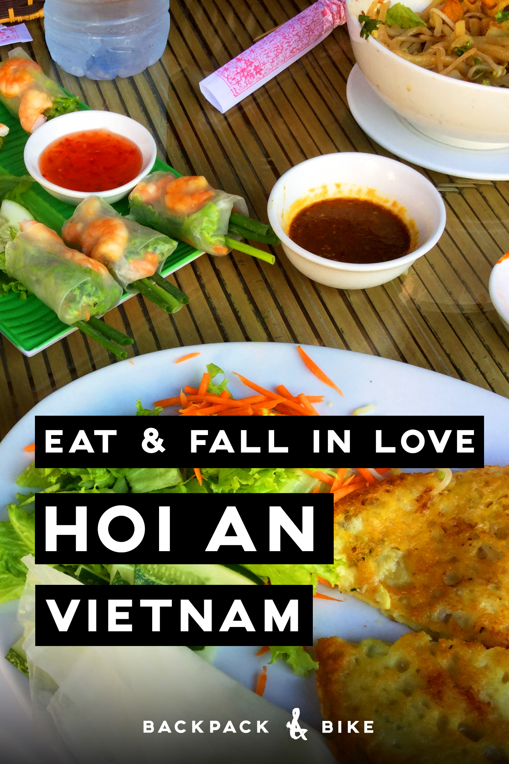 Eat and Fall in Love in Hoi An, Vietnam - Backpack & Bike
